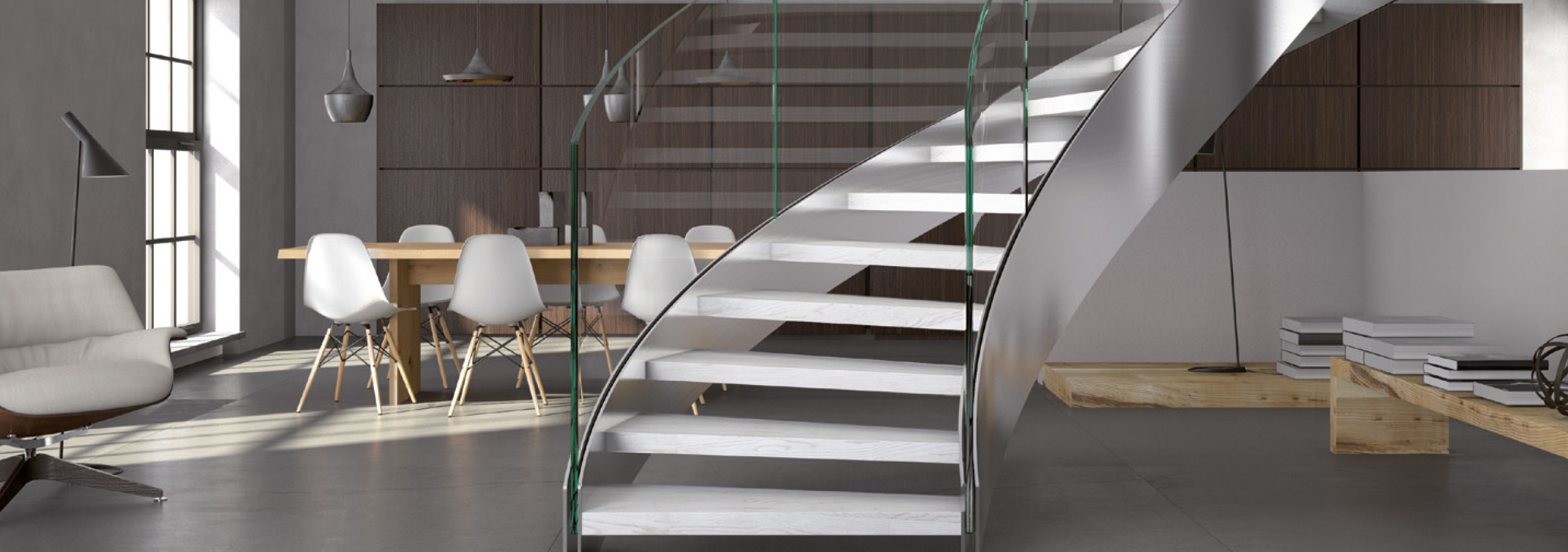 Home Escalier contemporain | Domologis